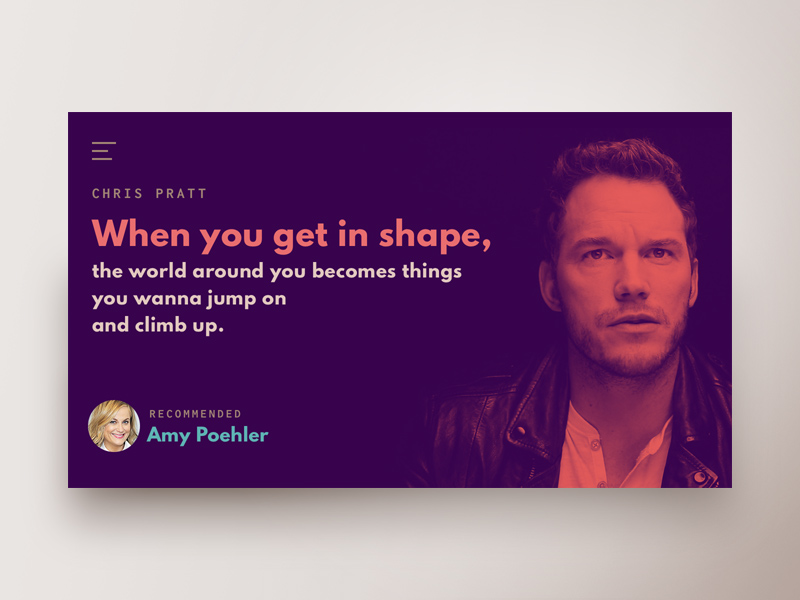 Quote Website Concept – PSD Repo