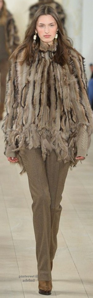 Ralph Lauren Fall 2015 | Furs & Fur Coats | Pinterest