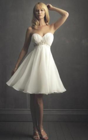 Cheap Short Wedding Dress HSNBD0289