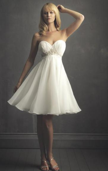 Cheap Short Wedding Dress HSNBD0289