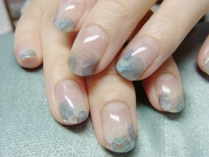 Nail Art: Watercolour Nails with Acrylic Paints