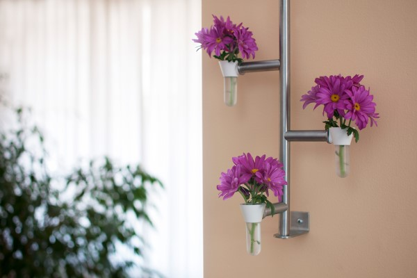 Smile Vial mini planter