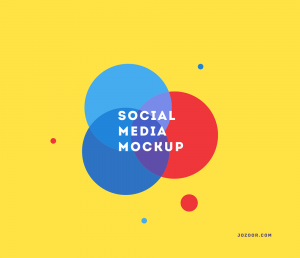 "free flat "" social media mockups ""  https://www.behance.net/gallery/28437741/Social- ..."