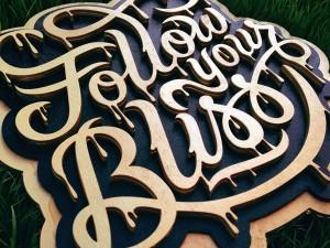 Handmade 3D Lettering