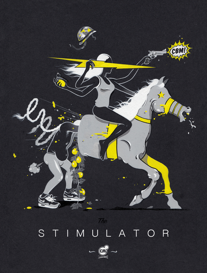 THE STIMULATOR (Moleskin Cover)