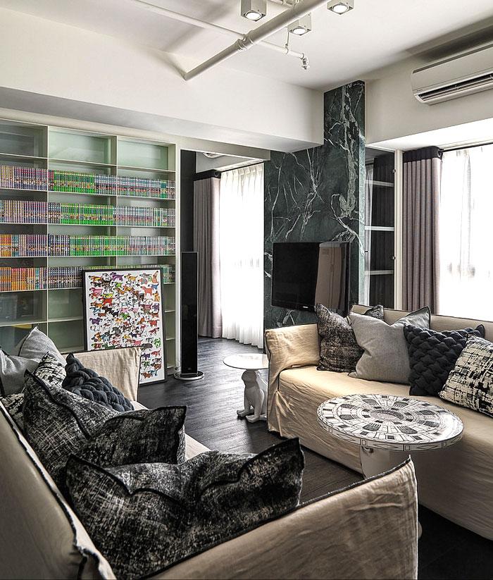 Apartment with Young Spirit by Ganna Design – InteriorZine