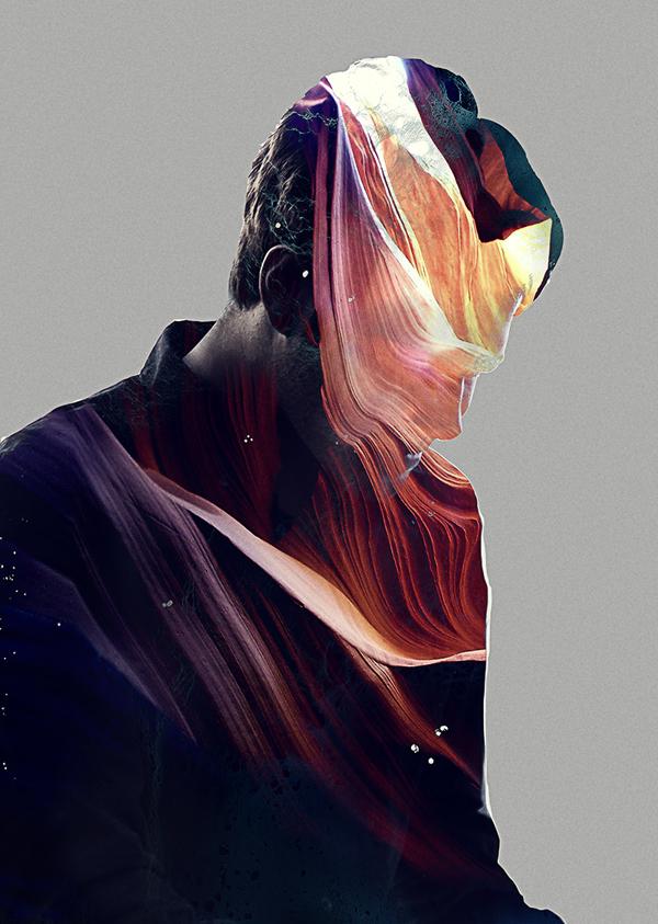 Art Direction for Calvin Goldspink