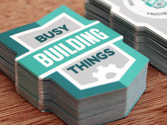 Busy Building Things Cards