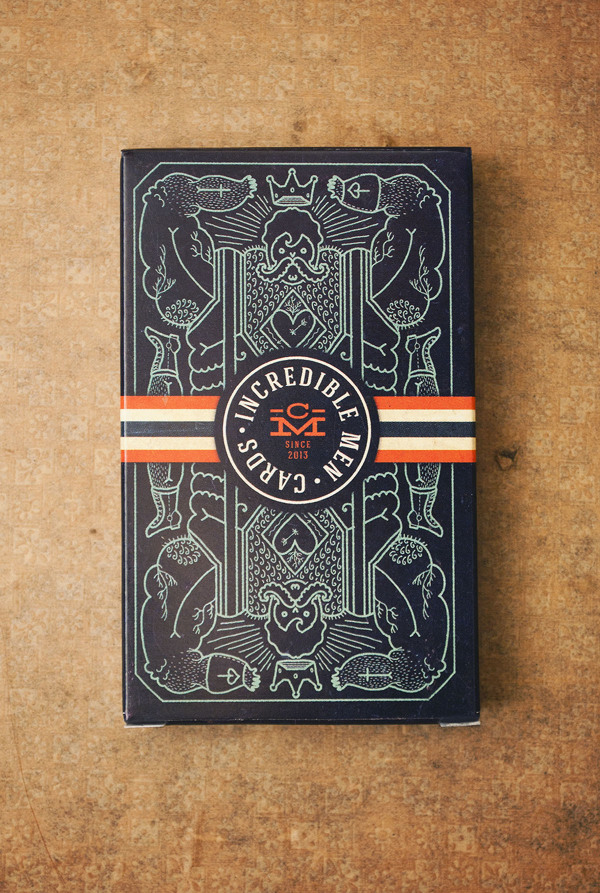 Incredible Men Cards – illustrated by Tomski&Polanski
