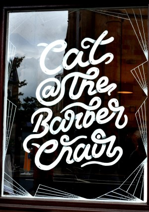 Cat @ The Barber Chair