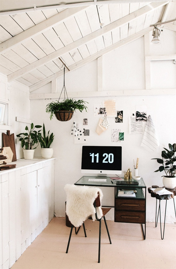 Smitten Studio's workspace