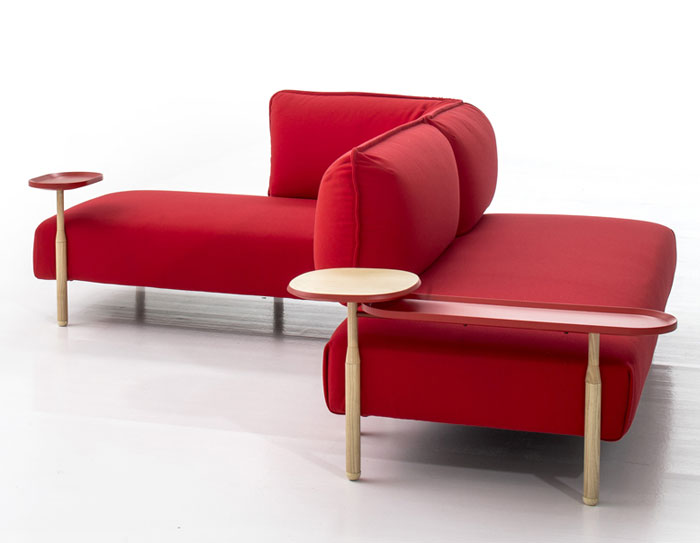 Flexible Modern Modular Sofa by Patricia Urquiola – InteriorZine