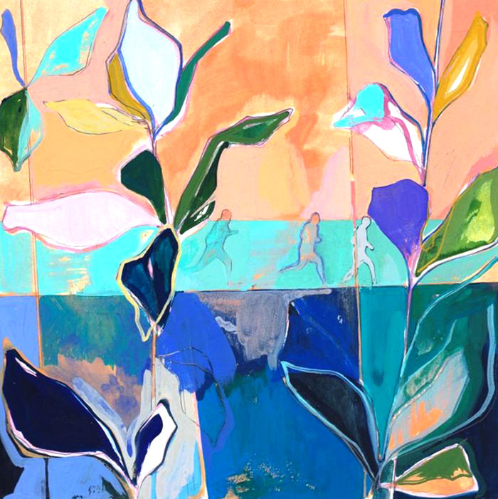 Fresh, Vivid Colors at Charlotte Evans Paintings – InteriorZine