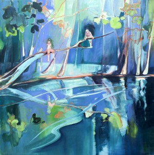 Fresh, Vivid Colors at Charlotte Evans Paintings – InteriorZine