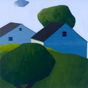 Houses, Clouds and Trees by Scott Redden – InteriorZine