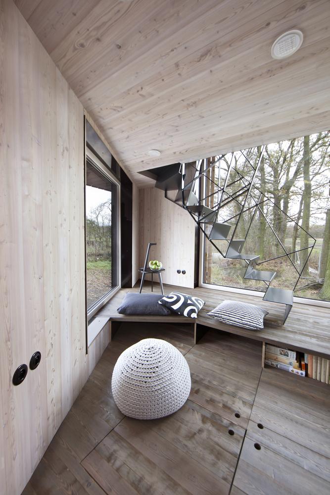 Low-energy wooden house Zilvar – ASGK Design