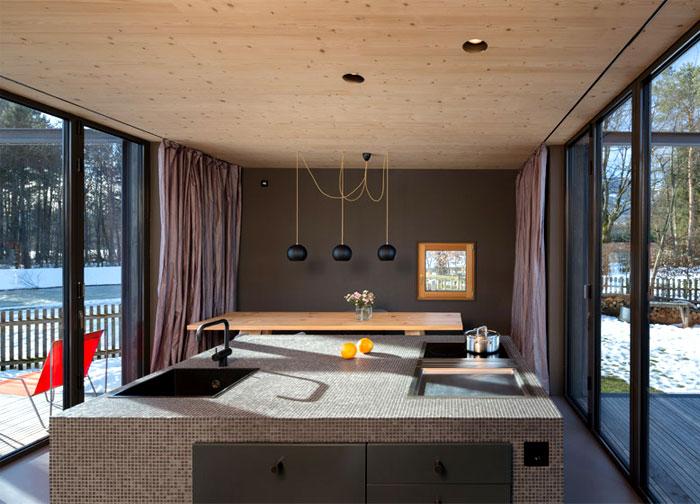 Modernistic Two Storey Bungalow – InteriorZine
