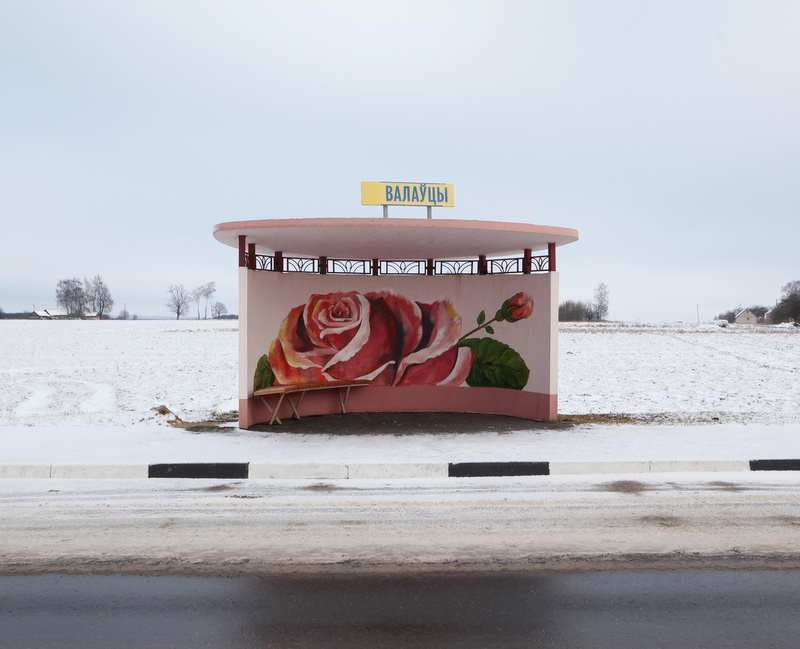 Painted Bus Stops in Belarus by Alexandra Soldatova