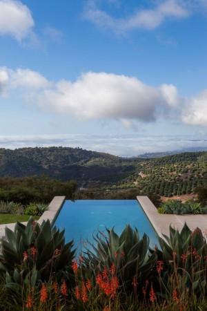 Toro Canyon House with views of the Santa Barbara coastline
