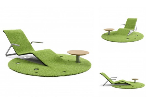 Turf Rug Lounger Lounge chair