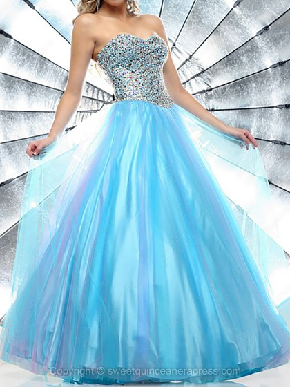 Buy Quinceanera Dresses Blue with Sweetquinceaneradress