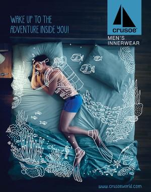 Crusoe Men's Innerwear Campaign