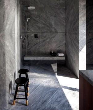 B House – Modern Dwelling with Dark Accents – InteriorZine