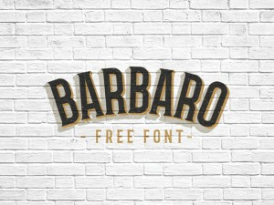 Barbaro Free Typeface