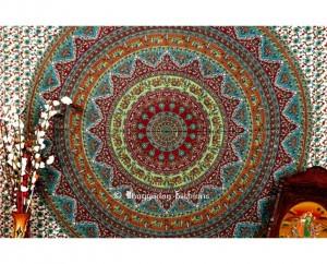 Buy Multicolor Handlook Hippie Tapestry