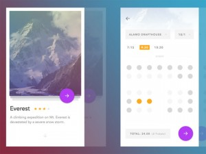 Cinema App UI Design (Sketch)