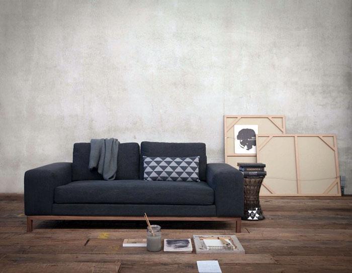 Classic Line Sofa with Pure Lines – InteriorZine