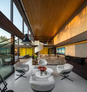 Contemporary Residence Interior in Brazil – InteriorZine