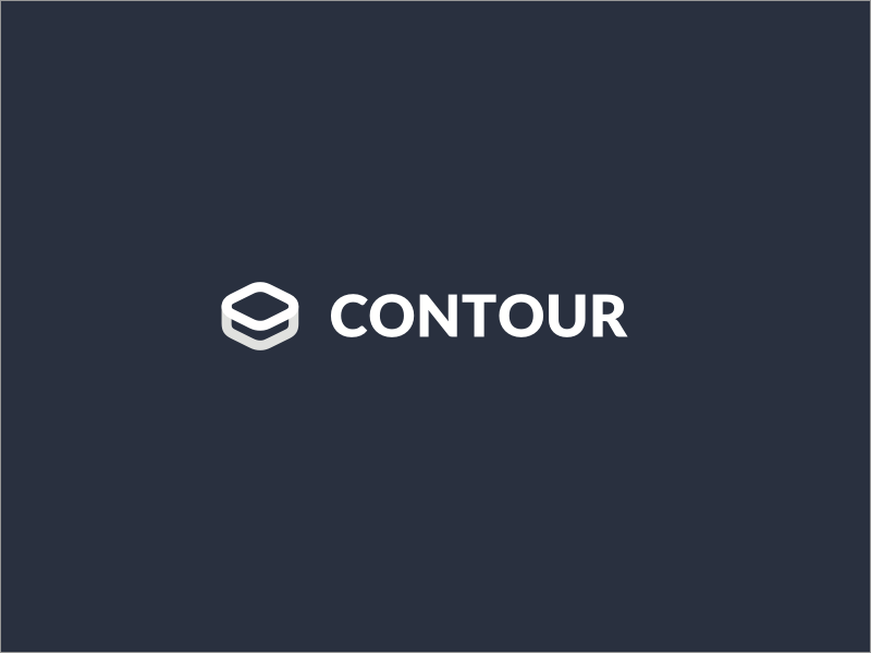 Contour – Logo designed for a content management