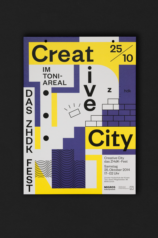 Creative City Creative City Zurich Opening Ceremony visual design