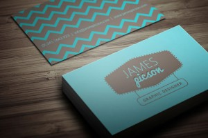 Free Creative Clean Business Card for Designer