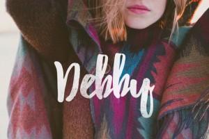 Debby : Free Hand-drawn Brush Font