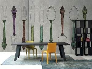 Decorative Wallpaper by Inkiostro Bianco – InteriorZine