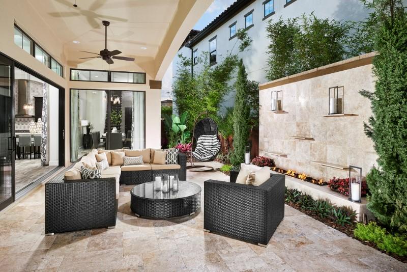 Dellagio Residence – Mediterranean Tuscan Style in Santa Barbara