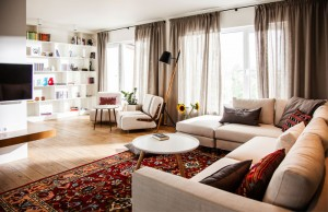 Eclectic Contemporary Apartment with Ethnic Touch – InteriorZine