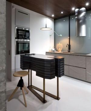 Elegant and Stylish Apartment Renovation by Olga Akulova – InteriorZine