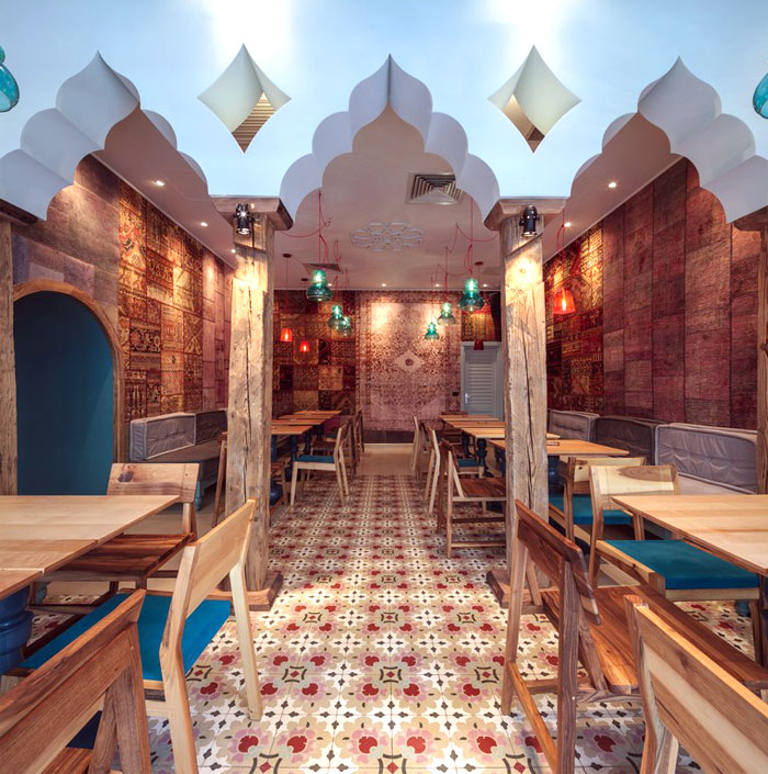 Exotic Oriental Restaurant Decor – InteriorZine
