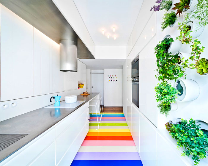 Fashionable Parisian Apartment by SABO Project – InteriorZine
