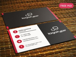 Free Professional Business Card PSD