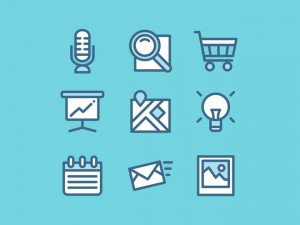 100 Free Web Vector UI Icons –