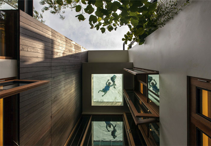 Gorgeous Vertical Garden House by Aamer Architects – InteriorZine