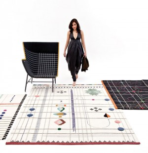 Handmade Rugs With Tribal Folk Embroidery – InteriorZine