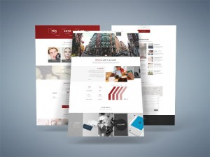 Hooky – Free One Page Business PSD Template
