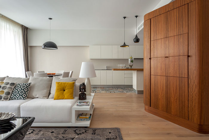 Inspirational Traveler's Apartment by Studio Goodnova – Godiniaux – InteriorZine