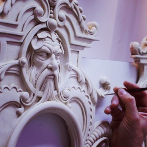 Joe Fenton, an amazing sculpture for his project Pater