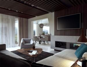 Modern Cosily Furnished Home by Studio Tolicci – InteriorZine
